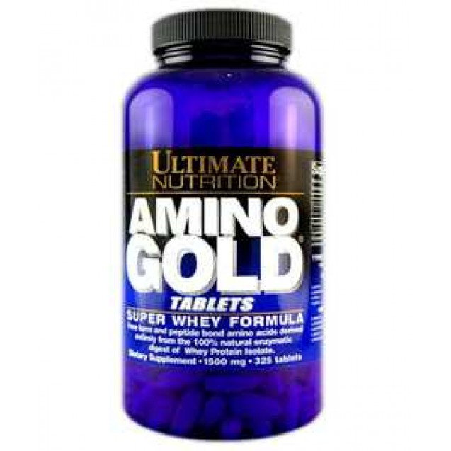Amino 1000 Gold аминокилоты, производитель Ultimate Nutrition, упаковка 325 таблеток