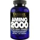 Amino 2000 Super Whey аминокислоты, производитель Ultimate Nutrition, упаковка банка 150 таблеток
