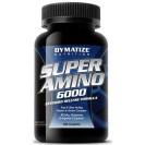 Super Amino 6000 аминокислоты, производитель Dymatize, упаковка банка 180 таблеток