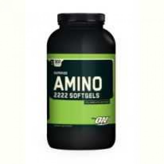 Optimum Nutrition Amino 2222 SoftGels 300 капсул