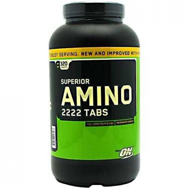 Amino 2222 tabs, амино 2222 аминокислоты Optimum Nutritionм 320 таблеток