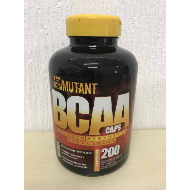 Mutant BCAA, Fit Foods, 200 Caps