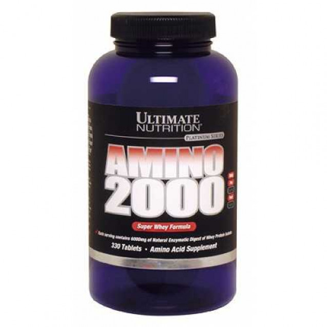 Amino 2000 Super Whey, Ultimate Nutrition, 330 tabl