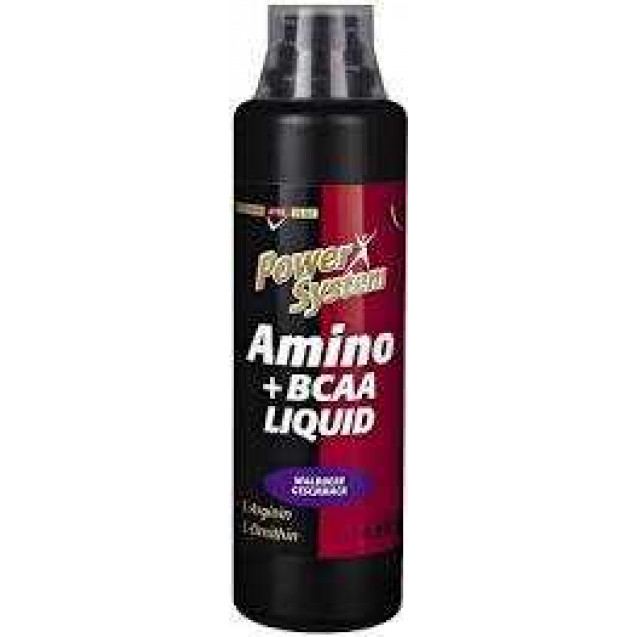 Amino+BCAA Liquid, Power System, 500 ml