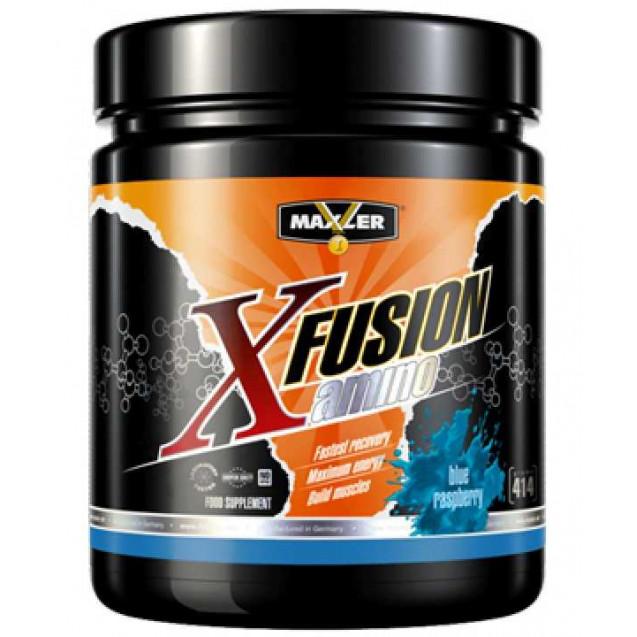Amino-X Fusion, аминокислоты, спортивное питание, производитель Maxler, упаковка банка 414 г.