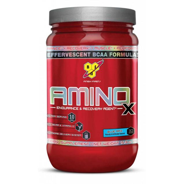 Amino X, амино х аминокислоты производитель BSN, упаковка банка 435гр.
