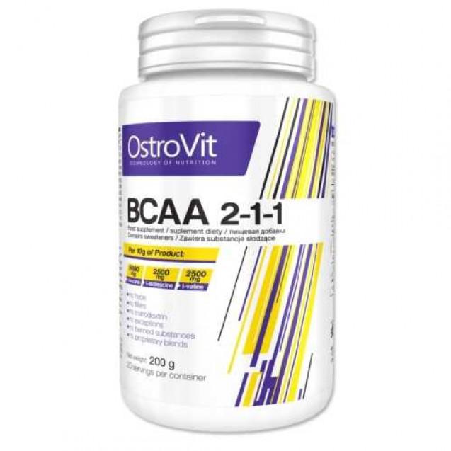 BCAA 2-1-1, Ostrovit, 200 гр