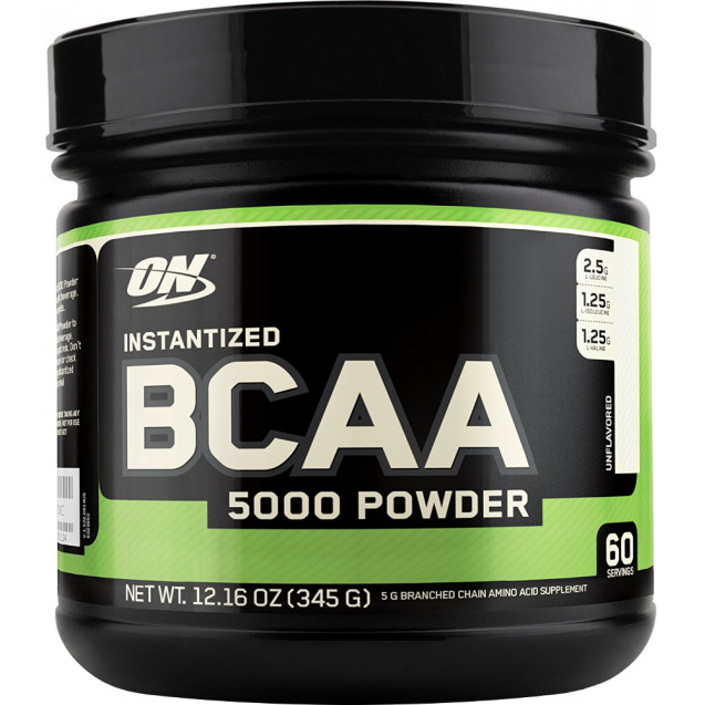 Optimum Nutrition BCAA 5000 340 гр