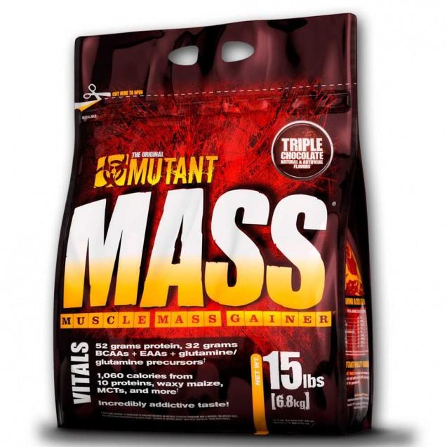 Mutant Mass 15lb, производитель Fit Foods, упаковка пакет 6800 гр.