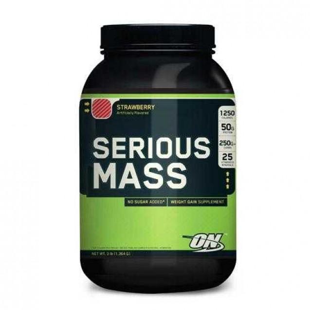 Serious Mass, сириус масс гейнер, производитель Optimum Nutrition, упаковка банка 762 гр.