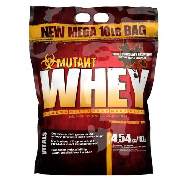 Mutant Whey 10lb, мутант вей протеин, спортивное питание, производитель Fit Foods, упаковка банка 4540 гр