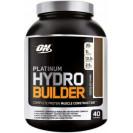 Platinum Hydro Builder, гидробилдер протеин, производитель Optimum Nutrition, упаковка банка 2000 гр.