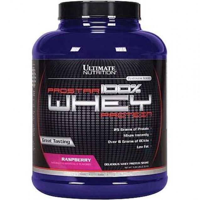 Whey Prostar, вей Простар протеин, производитель Ultimate Nutrition, упаковка банка 2270 гр.