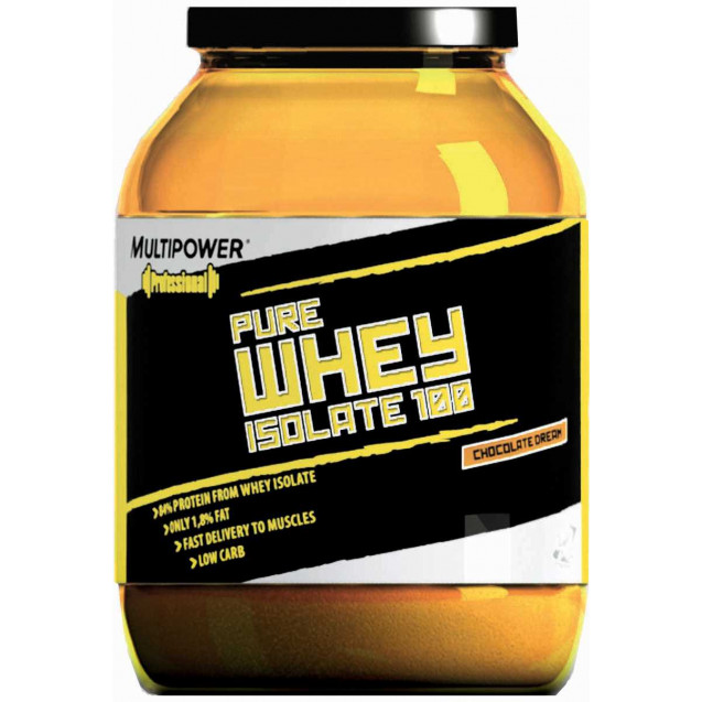 100% Whey Protein, производитель Multipower, упаковка банка 908 гр.