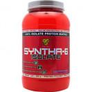Syntha 6 ISOLATE 2 lb, протеин, производитель BSN, упаковка банка 912 гр