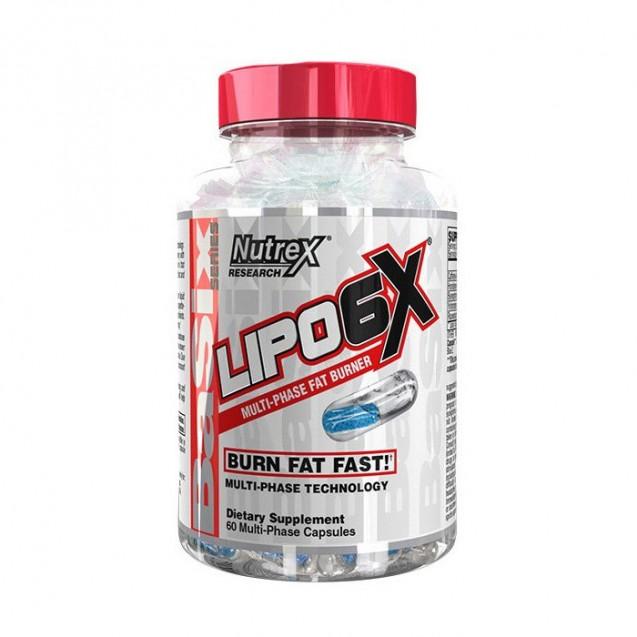 Nutrex Lipo 6X 60 капсул