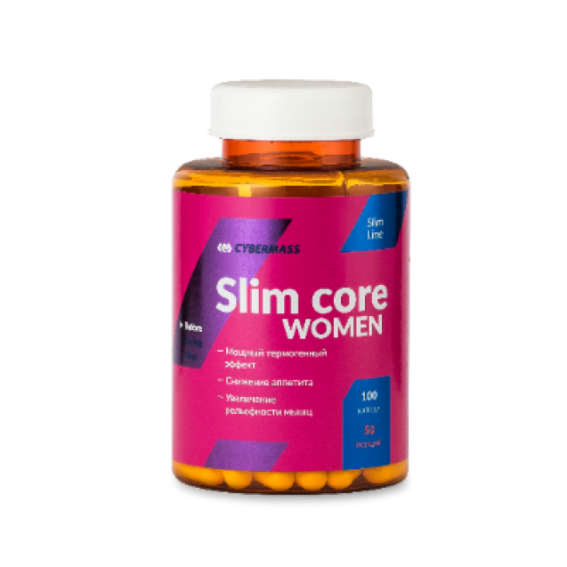 Slim Core Women Cybermass, 100 cap